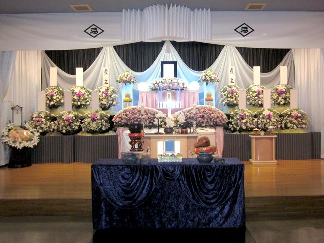 家族葬60万生花祭壇